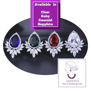 Areshna Jewelry - Royal Swarovski Crystals Luxury Pendant Necklace
